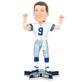 """Dallas Cowboys Tony Romo 8"""" Raised Arms Bobblehead"""
