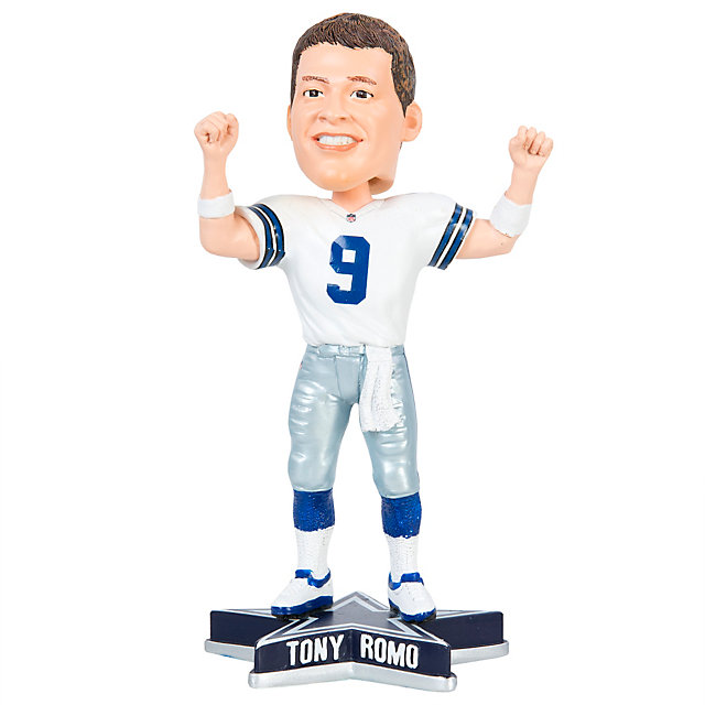 "Dallas Cowboys Tony Romo 8"" Raised Arms Bobblehead"