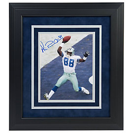 Dallas Cowboys Michael Irvin Autographed 8x10 Framed Photo