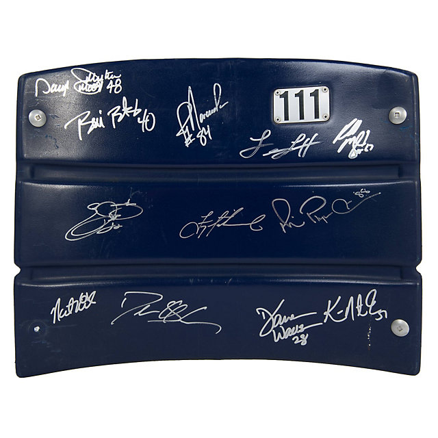 Dallas Cowboys 90's Super Bowl Champs Autographed Seat Back