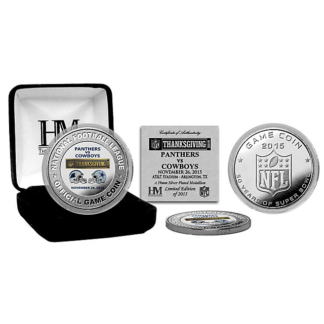 Dallas Cowboys 2015 Thanksgiving Day Game Coin