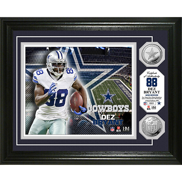 Dallas Cowboys Dez Bryant Silver Coin Photo Mint
