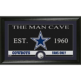 Dallas Cowboys Man Cave Photo Mint