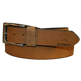 Dallas Cowboys Men's Embossed Tip Belt