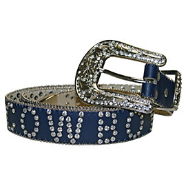 Dallas Cowboys Women's Call Out Rhinestone Belt