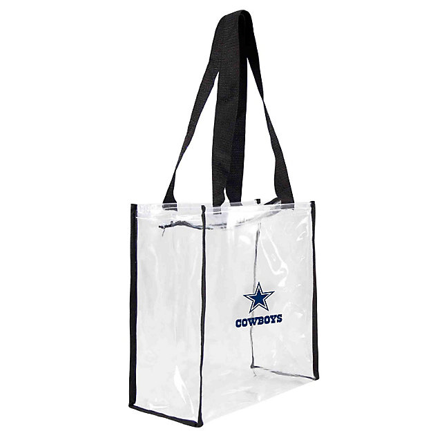 Dallas Cowboys Clear Square Tote