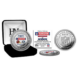 Dallas Cowboys 2016 Thanksgiving Day Game Coin