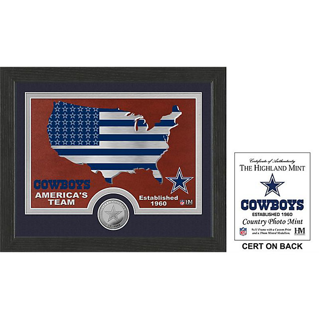 Dallas Cowboys 9 x 11 America's Team/Cowboys Country Frame