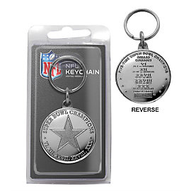 Dallas Cowboys Super Bowl Champions Keyring