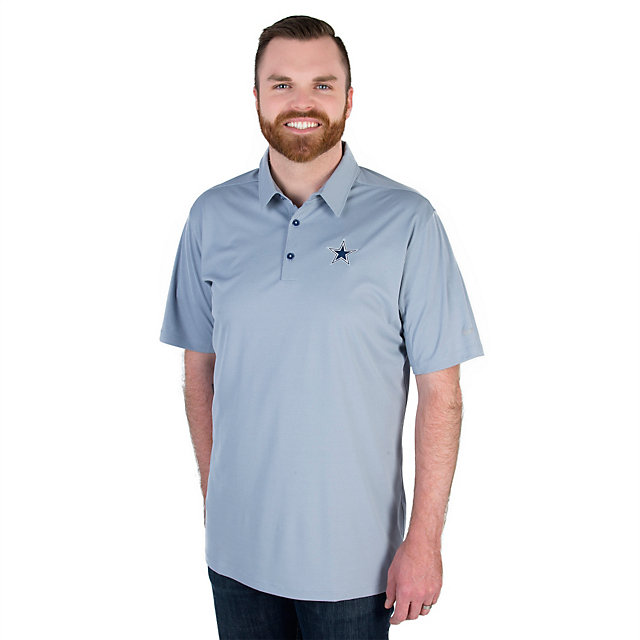 Dallas Cowboys Nike Golf Mobility Heather Pique Polo