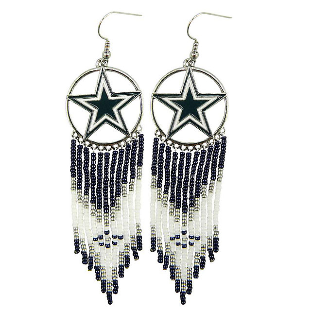 Dallas Cowboys Dreamcatcher Earrings