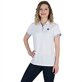 Dallas Cowboys Womens Nike Golf Victory Colorblock Polo