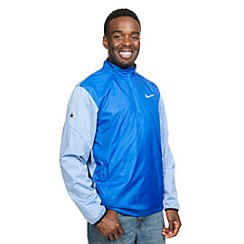 Dallas Cowboys Nike Golf Half-Zip Shield Jacket