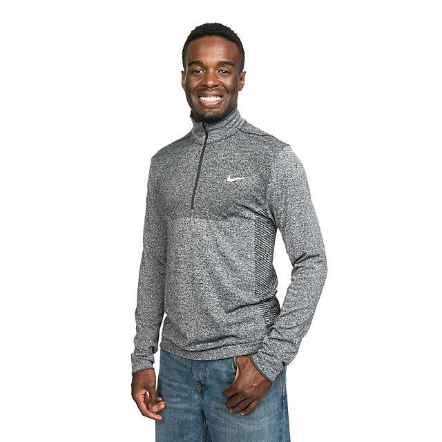Dallas Cowboys Nike Golf Dri-Fit Knit Half-Zip Pullover