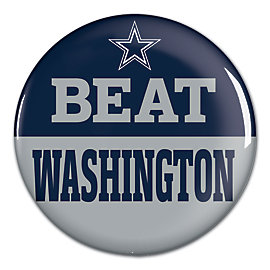 Dallas Cowboys Beat Washington Button