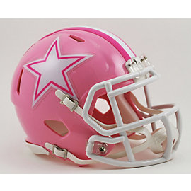Dallas Cowboys Pink Mini Helmet