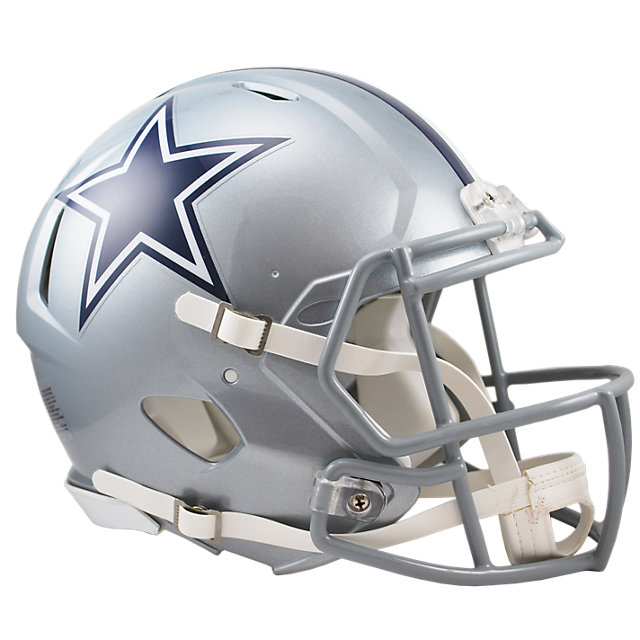 Dallas Cowboys Speed On Field Helmet