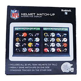 Dallas Cowboys NFL Helmet Match-Up Display