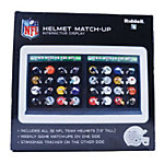 Dallas Cowboys NFL Helmet Match-Up Display