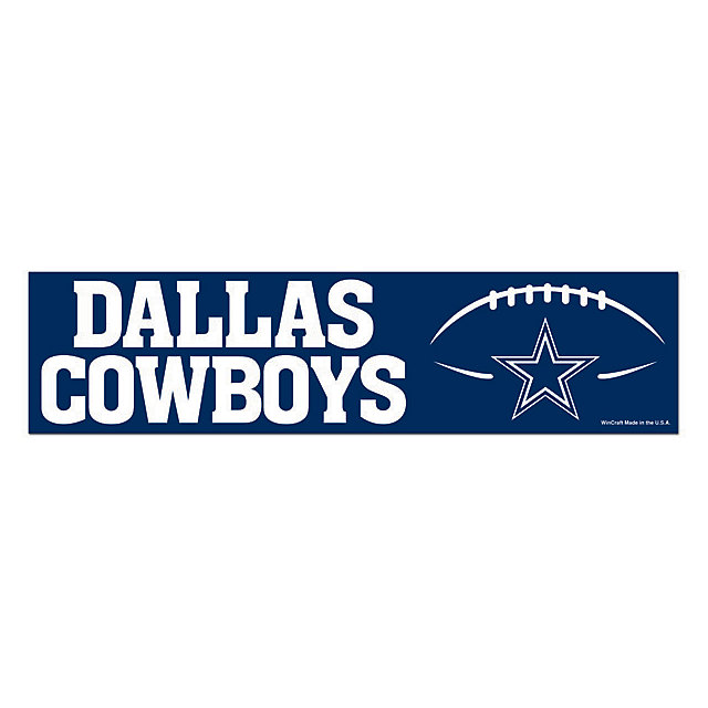 Dallas Cowboys Bumper Sticker