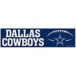 Dallas Cowboys Bumper Sticker