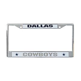 Dallas Cowboys Chrome License Plate Frame