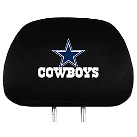 Dallas Cowboys Head Rest Cover 2-Pack