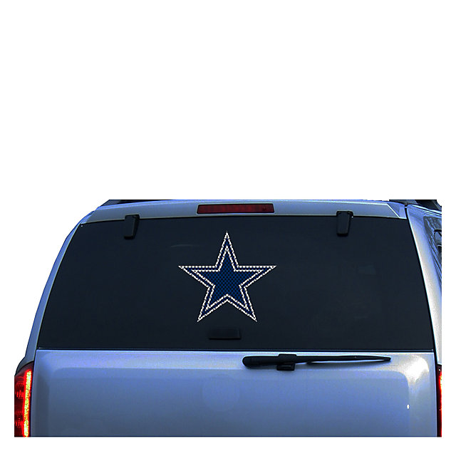 Dallas Cowboys 12 Inch Star Window Film