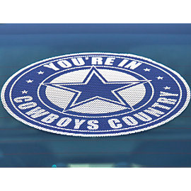 Dallas Cowboys Cowboys Country Window Film