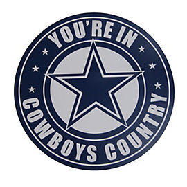 Dallas Cowboys Cowboys Country Large Car Magnet