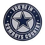 Dallas Cowboys Cowboys Country Automotive Magnet