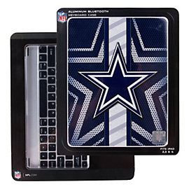 Dallas Cowboys Aluminum Keyboard iPad Case