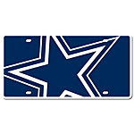 Dallas Cowboys Mega Star License Plate