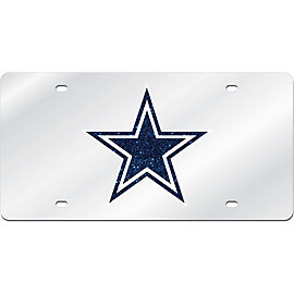 Dallas Cowboys Mirror License Plate