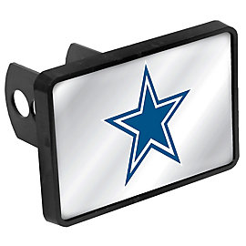 Dallas Cowboys Mirrored Blue Star Hitch Cover