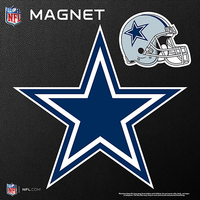 Dallas Cowboys Star and Helmet Magnets