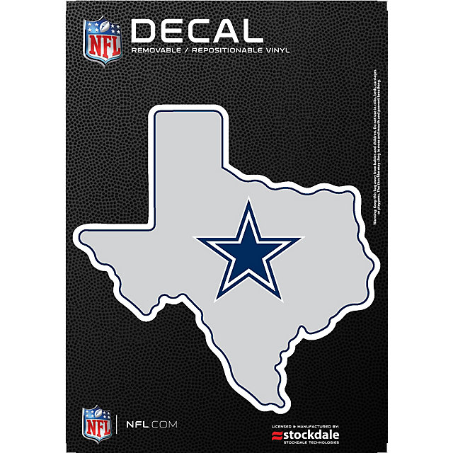 Dallas Cowboys State Of Texas Decal