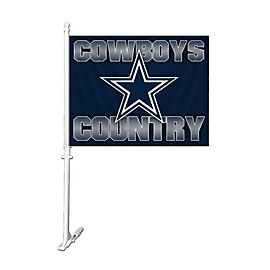 Dallas Cowboys Country Car Flag