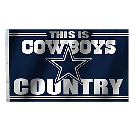 Dallas Cowboys 3x5 Cowboys Country Flag