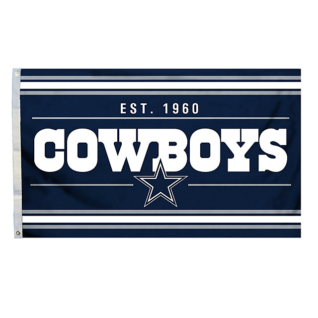 Dallas Cowboys 3x5 Established 1960 Flag