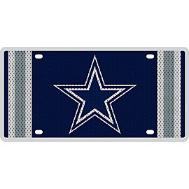 Dallas Cowboys Jersey License Plate