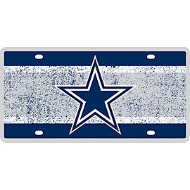 Dallas Cowboys Vintage License Plate
