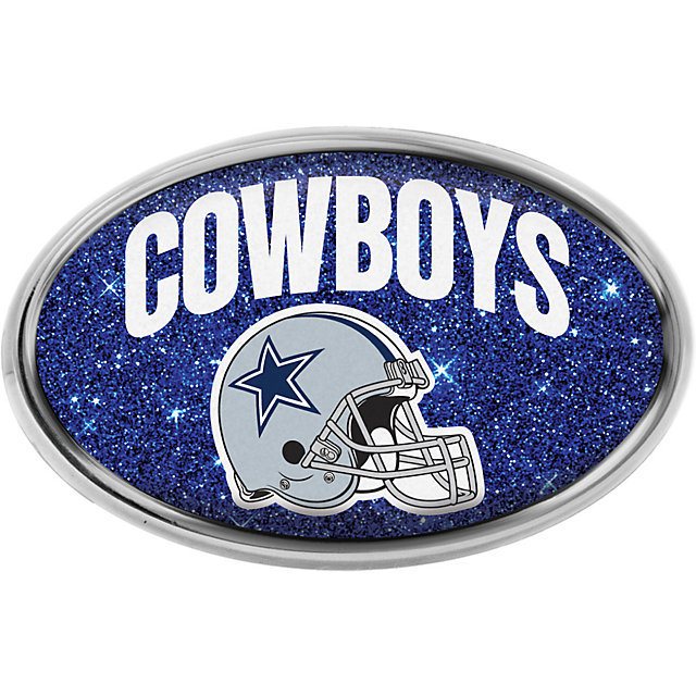 Dallas Cowboys Oval Glitter Emblem