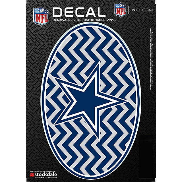 Dallas Cowboys 5x7 Chevron Decal