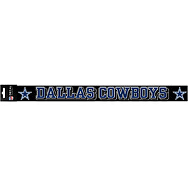 Dallas Cowboys 2x19 Full Color Decal Strip