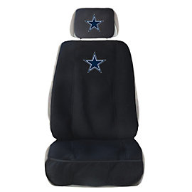 Dallas Cowboys Auto Seat Cover and Head Rest