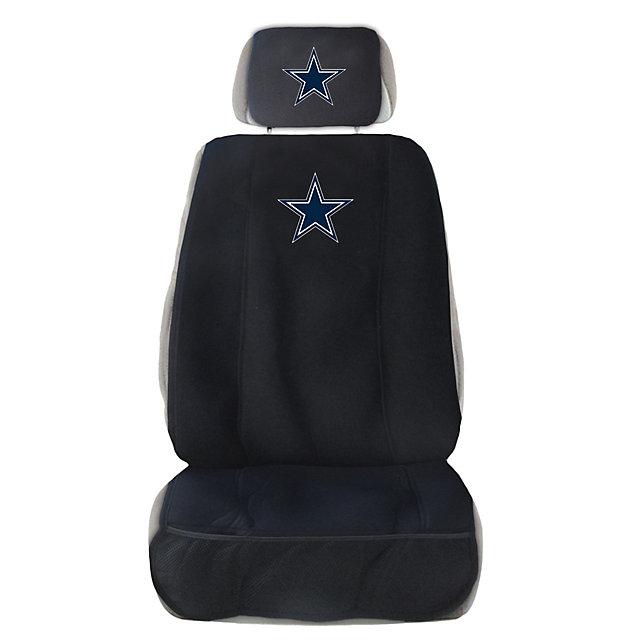 Dallas Cowboys Auto Seat Cover And Head Rest Automotive
