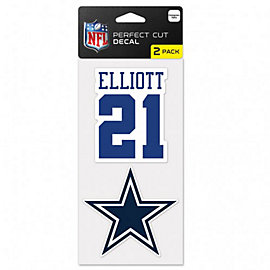 Dallas Cowboys Ezekiel Elliot 2-Pack Perfect Cut Decal