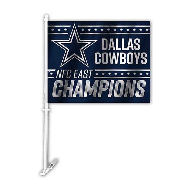 Dallas Cowboys 2016 NFC East Division Champs Car Flag