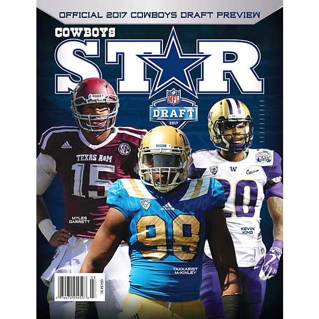 Dallas Cowboys Star Magazine Draft Preview 2017 Issue
